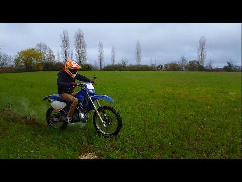 yamaha dt125r ride around dep exhaust cold start doovi