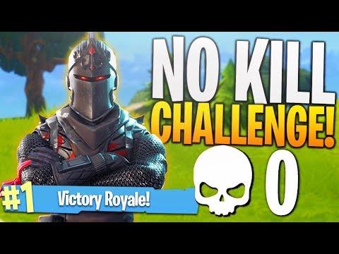 THE NO KILL CHALLENGE! (Hard) - PS4 Fortnite 0 Kill Challenge Game!