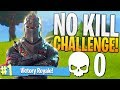 THE NO KILL CHALLENGE! (Hard) - PS4 Fortnite 0 Kill Challenge Game!