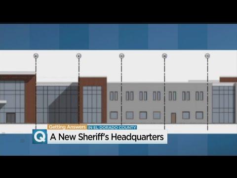 Funding For New El Dorado County Sheriff's Building Beats Deadline