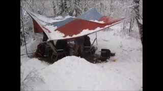 Хакасия 2012, 9-е мая..или как нас завалило снегом
