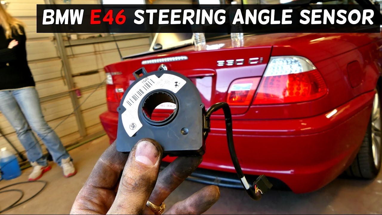 hight resolution of bmw e46 steering angle sensor removal replacement