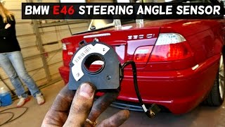 BMW E46 STEERING ANGLE SENSOR REMOVAL REPLACEMENT