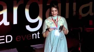 A Journey from Hate to Love: Flora Mahmood at TEDxMargalla