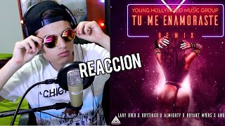 Anuel AA,Lary Over, Bryant Myers, Brytiago, Almighty - Tu Me Enamoraste [Official Video] Reaccion !