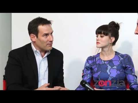"""FULL INTERVIEW: Ian Kahn & Heather Lind of """"TURN: Washington's Spies"""""""