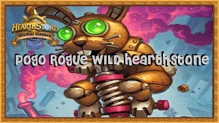 ( Pogo Rogue Wild )   Hearthstone livre