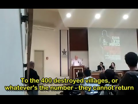 Prof. Zeev Sternhell and Sheikh Jarrah Solidarity's denying of Palestinian rights