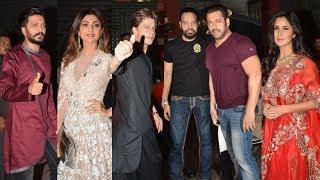 Download lagu Salman Khan s Sister Arpita Khan s Diwali Party 2017 FULL HD Shahrukh Katrina Shilpa MP3