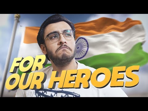 PUBG MOBILE LIVE: FOR OUR HEROES | INDIAN ARMY | #RIPBravehearts