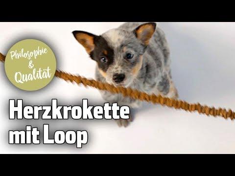 NEU: Die Herzkrokette mit Loop von Happy Dog
