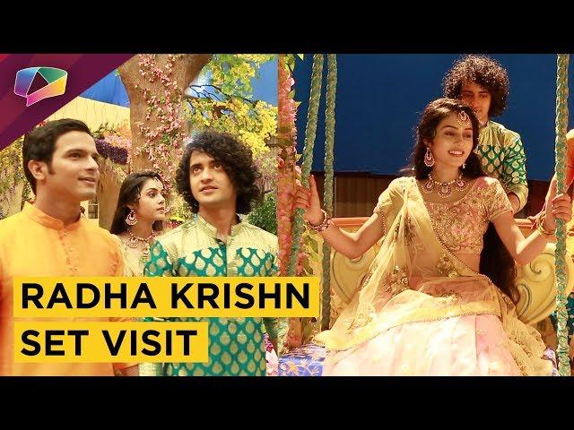 Radha Krishn Set Visit With Producer Siddharth Kumar Tewary & Crew | Exclusive