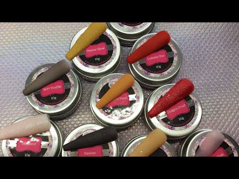 Acrylic Nails | CJP New Colours | Colour Change Acrylic