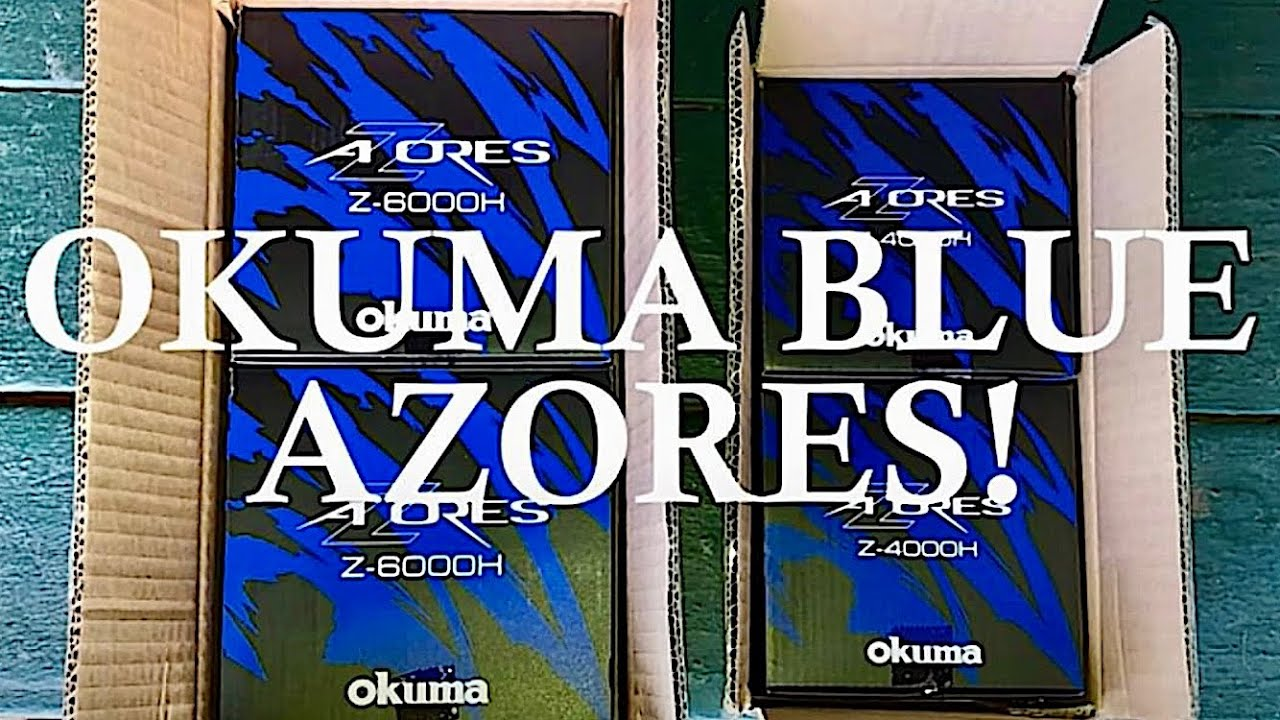 It's Here! Okuma's Blue Azores For 2019!