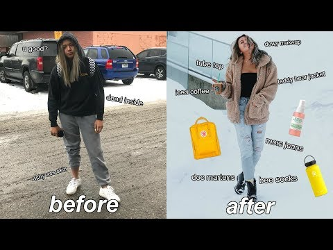 every basic girl in 2018 TRANSFORMATION | glow up challenge