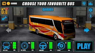 Game Android Om Telolet Om  | Telolet Bus Driving 3D screenshot 2