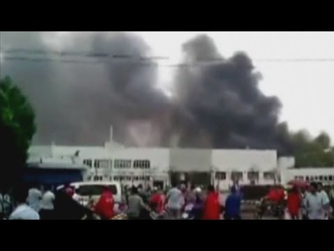 Factory blast in east China kills at least 65