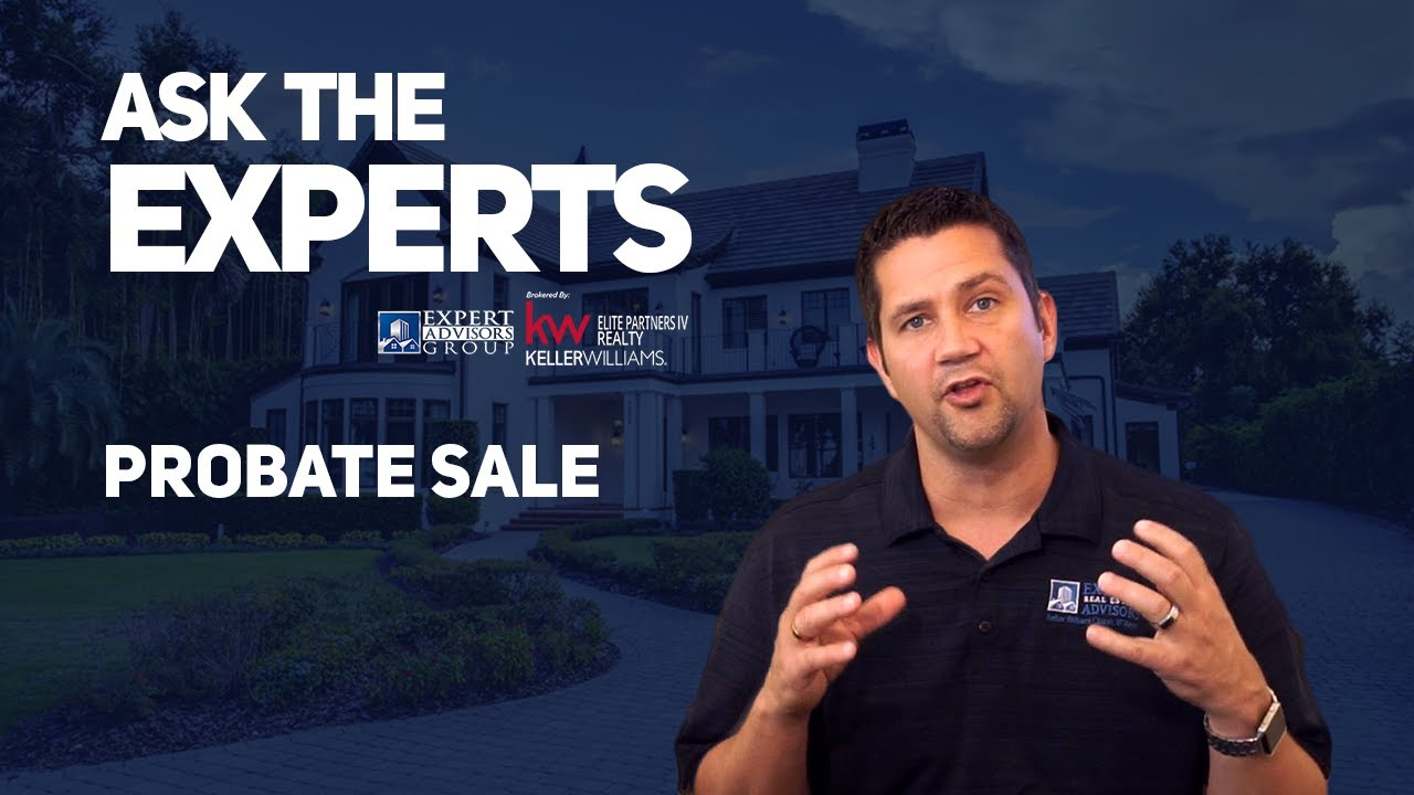 Ask the Experts: Probate Sale - What is it and how does it work? Jon Wanberg