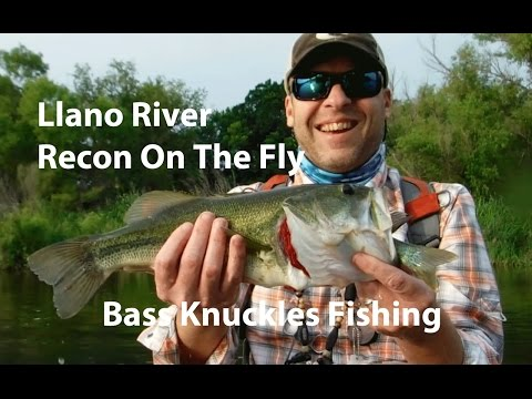 Llano River -  Recon On The Fly (Bonus Two For One Catch!)