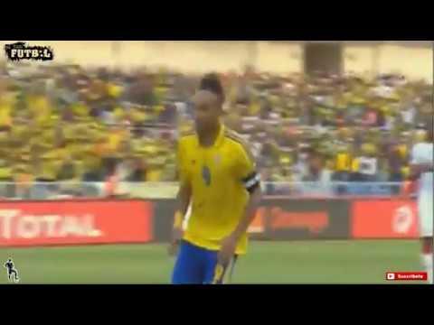 PIERRE EMERICK ANOTA GOL DEL EMPATE GABON VS BURKINA FASO 1 - 1 (COPA AFRICA) 18/01/2017HD