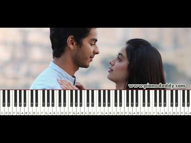Dhadak (Title Song) Piano Tutorial ~ Piano Daddy