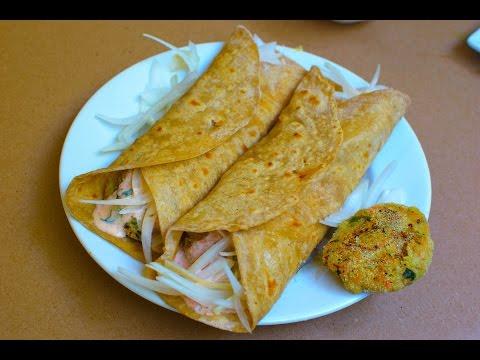 Vegetarian Frankie : Popular Indian Street food
