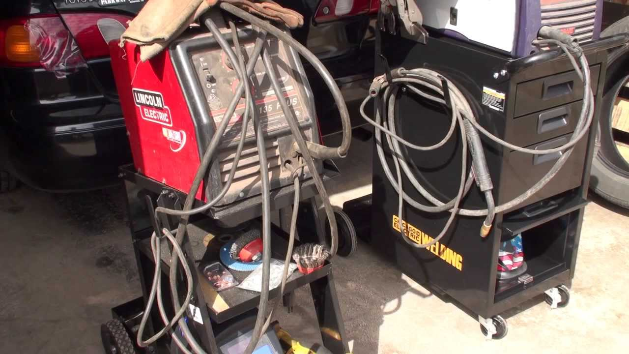 Harbor freight welding carts product review