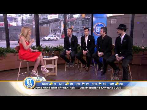 The Tenors on their new album and tour
