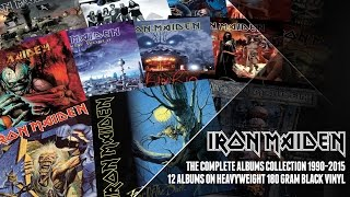 Iron Maiden - The Complete Albums Collection 1990-2015 Vinyl Reissues