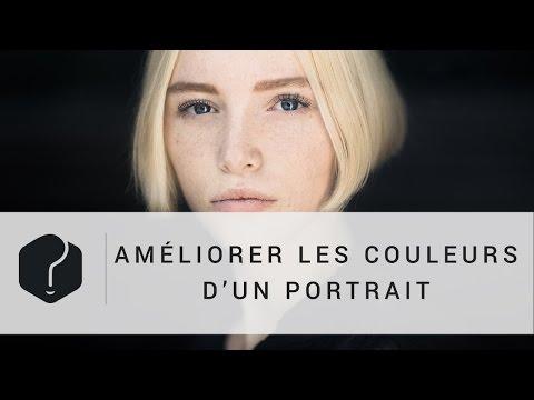 Retouche photo : améliorer les couleurs d'un portrait