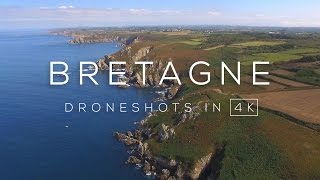 Bretagne, France in 4K | Drone video