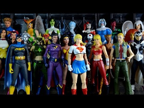 Top 10 Hottest & Sexiest DC Comics Action Figure