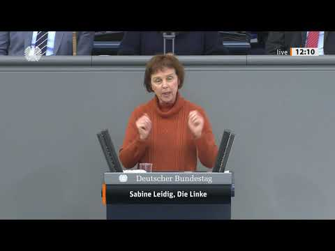 Rede von Sabine Leidig am 5. März 2021 im Deutschen Bundestag zum Thema Wir wollen öffentliche Mobilität und Sozialstandards für alle garantieren!