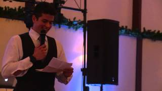 """Man of Honor"" Wedding Speech For My Sister"