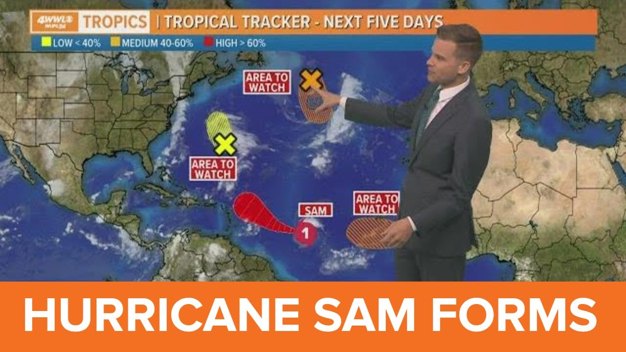 Hurricane Sam Rapidly Intensifying; Forecast to Become Category 4 ...