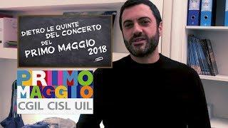 Dietro le quinte del Concerto del Primo Maggio 2018 - Video Blog