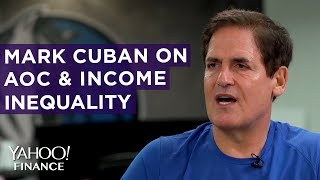 Mark Cuban talks AOC and income inequality