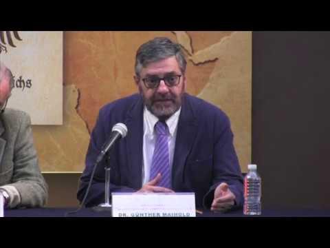 Seminario internacional: Las constituciones de México y Alemania 1917-1919. Mesa 1