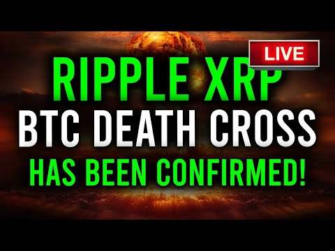 🚨LIVE BITCOIN DEATH CROSS CONFIRMED, RIPPLE XRP ADOPTED BY EL SALVADOR? + SEC COMMISSIONER ON XRP