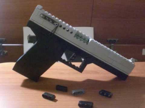 Lego Glock 19 Working Youtube