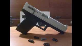lego GLOCK 19 (working)