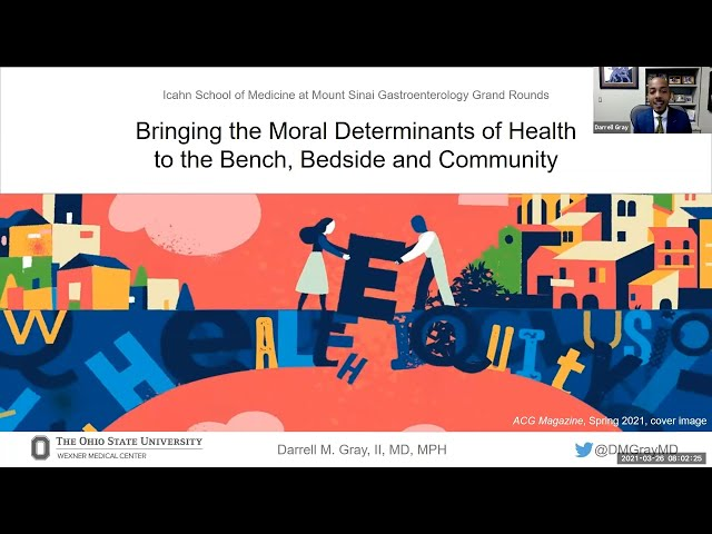 Bringing the Moral Determinants of Health to the Bench, Bedside and Community