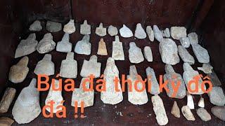 Sưu tập những viên đá kỳ lạ, công cụ đồ đá búa đá đục đá  kỳ lạ trong thiên nhiên !!!