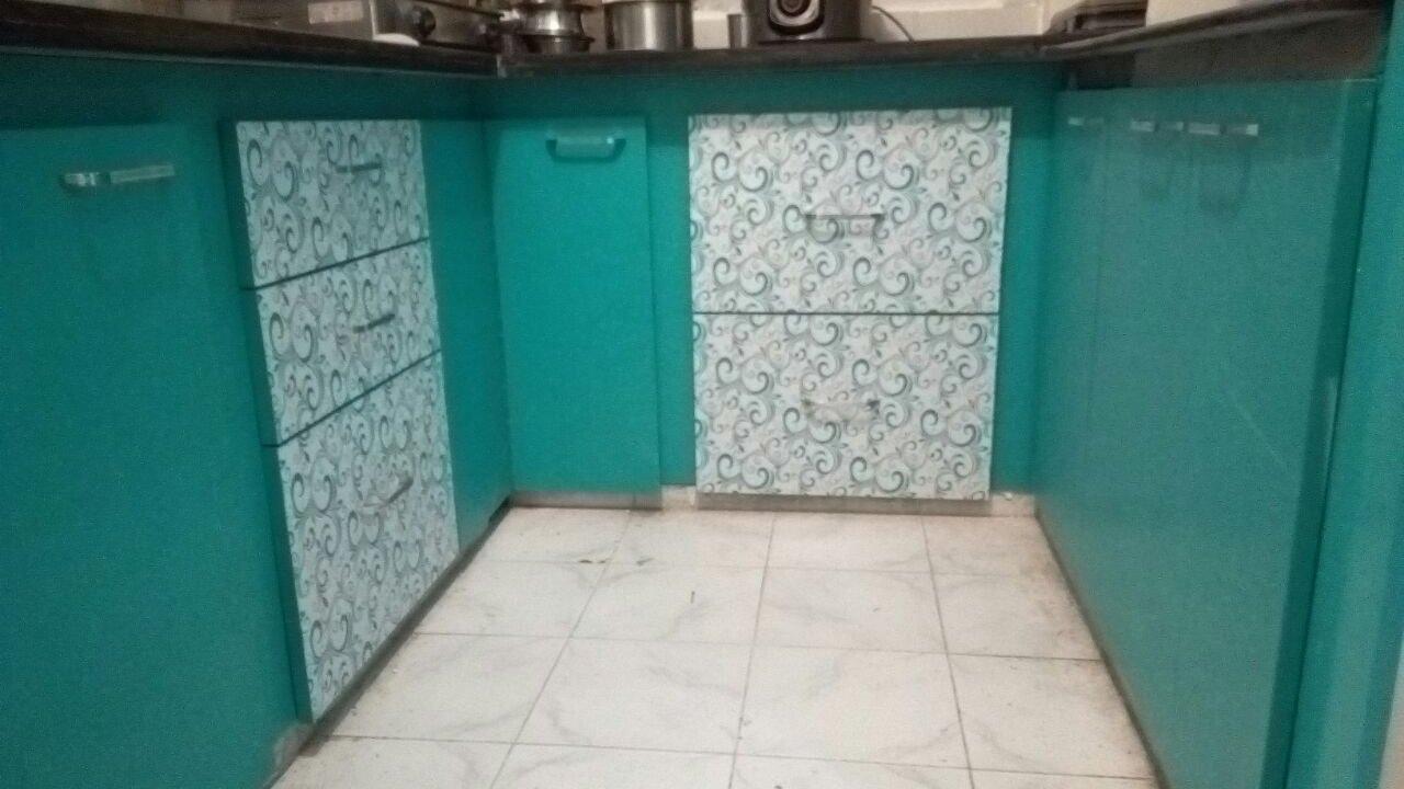 2bhk flat design by Eurostar kitchen - YouTube