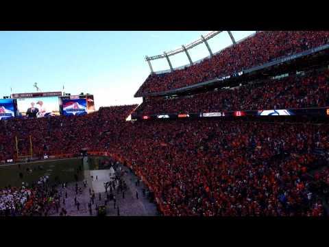 AFC Championship celebration Denver Broncos
