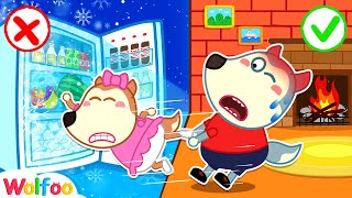 No No, Lucy! Play Safe with Refrigerator - Learn Safety Tips for Kids | Wolfoo Channel Kids Cartoon