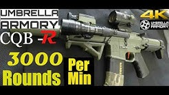 Umbrella Armory Krytac PDW  (3000 ROUNDS PER MINUTE)  RandomGuyKev Airsoft Event 2019