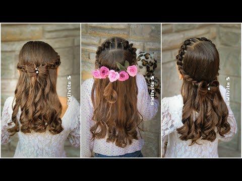 Peinado Fácil, Elegante Y Rápido Para Niñas / Peinados Fáciles Y Rápidos WILVITA
