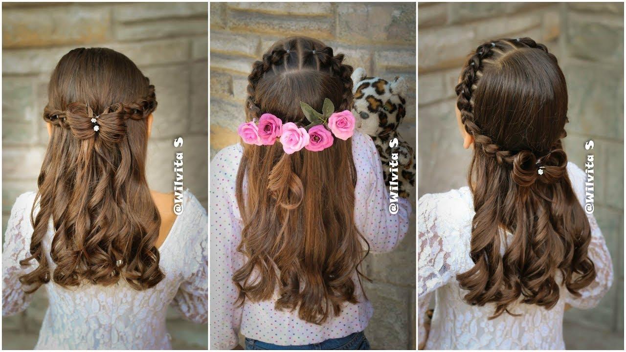 Peinado f cil elegante y r pido para ni as peinados - Peinados de ninas ...