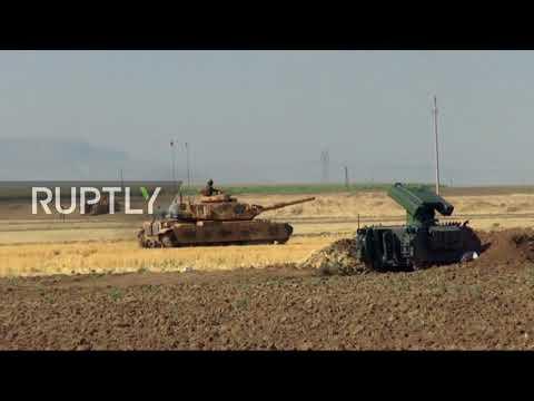 Turkey: Turkish tanks drill on Iraq border ahead of Kurdish independence vote